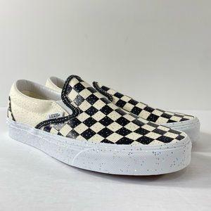 Vans Classic Slip-On Checkerboard Confetti Shoes